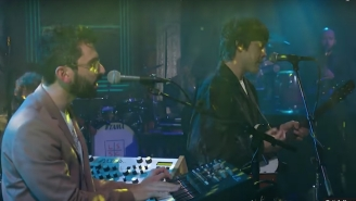 MGMT Supported Their New Album On 'Colbert,' And Then Played 'Electric Feel' Just For Kicks