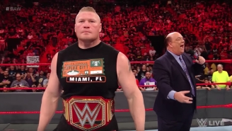 Brock Lesnar Could Be Off WWE TV Until August, Because Who Needs Champions