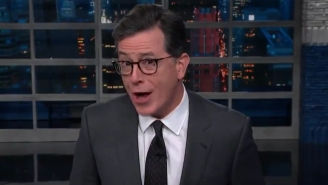 Stephen Colbert Wants Omarosa To Know That Trump Can Still Hear Her Whisper On Reality TV