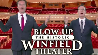 Michael Shannon And Stephen Colbert Join Forces For A Good Cause Before Things Get Very Absurd