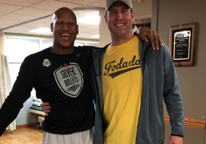 Pittsburgh Steelers Linebacker Ryan Shazier Has Finally Left The Hospital As His Road To Recovery Continues