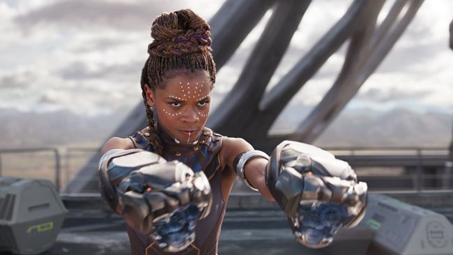 black panther second weekend box office