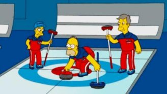 Of Course 'The Simpsons' Predicted The United States Winning A Gold Medal In Olympic Curling