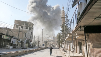 The Syrian Government's Air Strikes Have Killed At Least 250 Civilians In 48 Hours