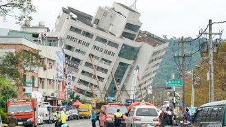 Dozens Remain Missing In Taiwan After A Powerful Earthquake Pushed Buildings From Foundations