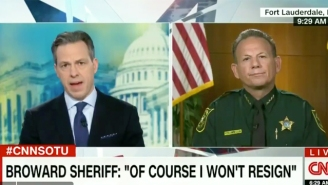Jake Tapper Gets Confrontational With The Broward Sheriff Over His Department's Response To The Florida Shooting