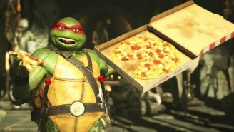'Injustice 2's' Teenage Mutant Ninja Turtles Gameplay Shows Off The Unique, Pizza-Slinging Fighters
