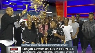 Warren G Helped His Blue Chip Son Commit To USC By Popping A Balloon