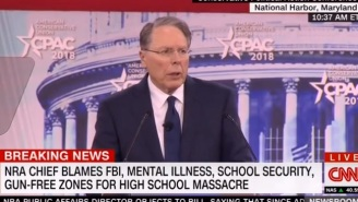 The NRA's Wayne LaPierre Doubles Down On His 'Good Guy With A Gun' Argument