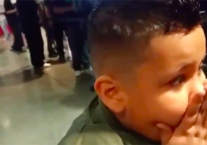 One Young WWE Fan Had An Emotional Reaction To The Perfect Birthday Gift