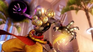 Blizzard Allows 'Overwatch's' Zenyatta Character To Take His First Steps, And The Results Are Extremely Awkward