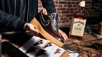 The Famous 'Jack Daniels Sneakers' Are Being Auctioned Off For A Good Cause