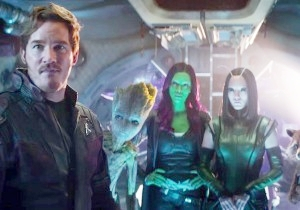 The Guardians Of The Galaxy Meet Thor In This Sneak Peek Of 'Avengers: Infinity War' From The Kids' Choice Awards