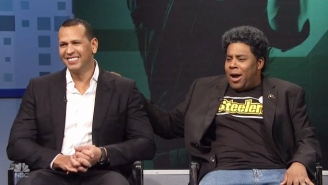 Charles Barkley And A-Rod Debate With Very Confused NFL Star Kenan Thompson In This Poignant 'SNL' Sketch