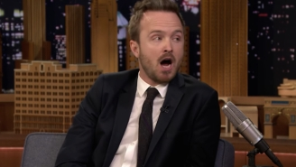 Aaron Paul Detailed The Time He Was Chased By Rihanna On 'Fallon'