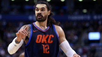 Steven Adams Is Reportedly Among Those The Thunder Are Willing To Trade To Get Out Of The Luxury Tax