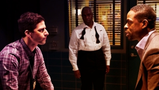 Sterling K. Brown Visits 'Brooklyn Nine-Nine' For A 'Homicide' Tribute