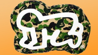 Fashion And Art Collide With BAPE's New Keith Haring Collection