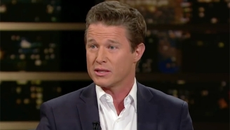 Billy Bush Tried To Show Growth On 'Real Time' Amid The Fallout From The Trump 'Access Hollywood' Tape