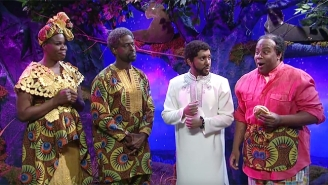 'SNL' Introduces Us To More Of T'Challa's Ancestors In This 'Black Panther' Deleted Scene