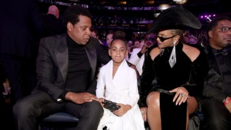 Blue Ivy Bid $19K On A Painting At An Auction Because Tyler Perry Made Her Do It