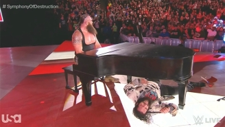 Braun Strowman Redefined 'Piano Man' In Raw's 'Symphony Of Destruction'