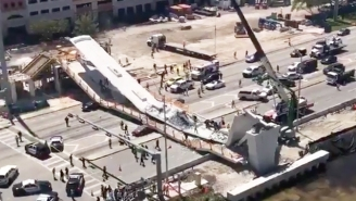 A Pedestrian Bridge At Miami's Florida International University Has Collapsed, Causing Several Fatalities