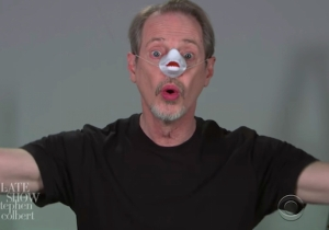 Steve Buscemi Auditions For Every Oscars Best Picture Nominee On 'Colbert'