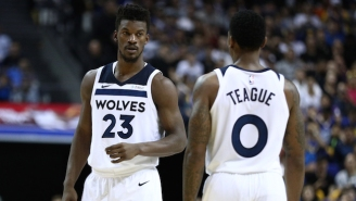 Jimmy Butler And Jae Crowder Got Into It On Twitter After The Jeff Teague Skirmish