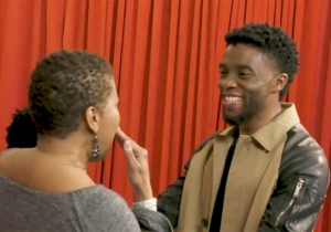 Chadwick Boseman Surprising Thankful Fans Of 'Black Panther' Is As Heartwarming As Can Be