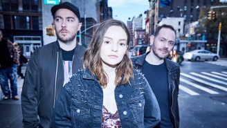 Chvrches Go Full Pop On Their Yearning New Collaboration With Marshmello, 'Here With Me'