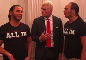 Cody Rhodes And The Young Bucks' 'All In' Show Has An Official Venue