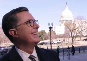 Stephen Colbert Sniffs Around Capitol Hill And Releases His Own Classified Memo About Devin Nunes