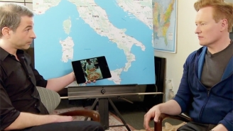 Conan's Awkward And Combative Planning Session With Jordan Schlansky Is Great Prep For Their Trip To Italy