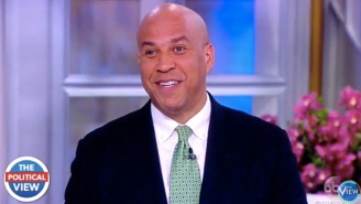 Cory Booker Deftly Skates Past A Question On Whether He's A 2020 Presidential Contender