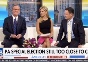 'Fox And Friends' Writes Off Conor Lamb's Impending Victory Because He's 'Cute,' And 'Cuteness Counts'