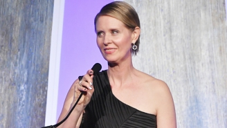 Cynthia Nixon Laughs Off An 'Unqualified Lesbian' Dig From A New York Politician