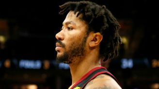 Derrick Rose Doesn't 'Need Your F*cking Validation,' Especially If You Think He's A 'Bum'