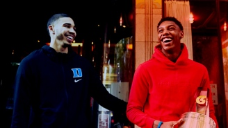 We Spoke To Jayson Tatum And R.J. Barrett About Being Part Of Duke's 'Brotherhood'
