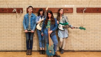 Philadelphia's Queen Of Jeans Satirize 1960's Girl Groups With 'U R My Guy'