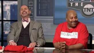 SNL's Kenan Thompson Hilariously Crashed 'Inside The NBA' As LaVar Ball