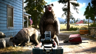 'Far Cry 5' Lets You Team Up With A Bear Named 'Cheeseburger' To Fight Cultists