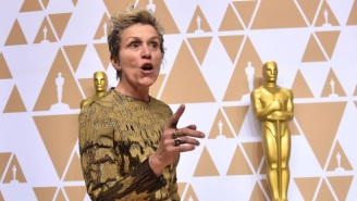 [UPDATED] Frances McDormand's Oscar Was Briefly Stolen During A Post-Awards Party