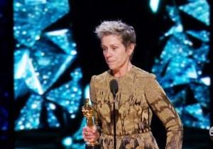 Frances McDormand Delivered A Rousing Speech After Winning The Best Actress Oscar