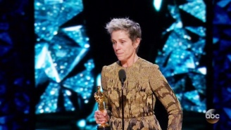 Frances McDormand Delivered A Rousing Speech After Winning The Best Actress Oscar