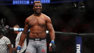 Heavyweight Destroyer Francis Ngannou Wants To Welcome Brock Lesnar Back Into The UFC