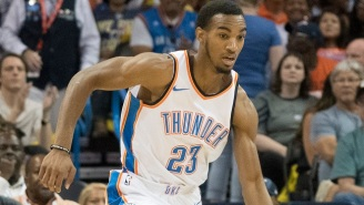 Thunder Rookie Terrance Ferguson Suffered A Concussion After Colliding With Steven Adams