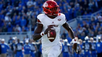 Lamar Jackson Denied Reports That NFL Teams Want Him To Try Wide Receiver