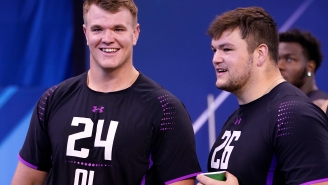 It's Time To Celebrate The Beefy Boys At The 2018 NFL Combine