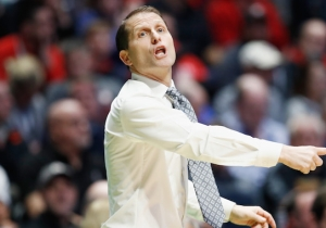 Nevada Coach Eric Musselman Explained Why He Likes To Celebrate Wins Without A Shirt